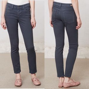 Pilcro Stet Gray Slim Ankle Jeans